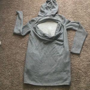 ‼️SALE‼️ NWOT! Xhilaration open back hoodie!